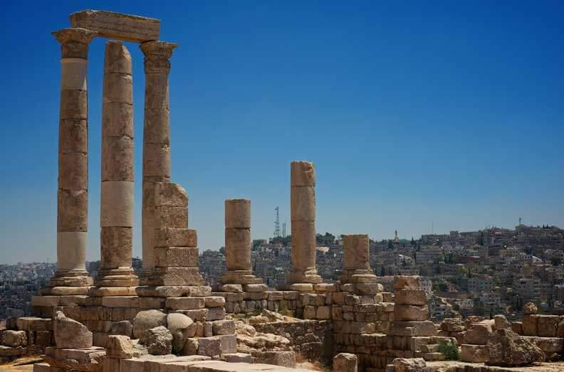 Hercules Temples Amman Citadel