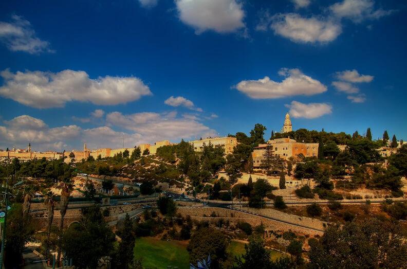 Jerusalem City Panorama1
