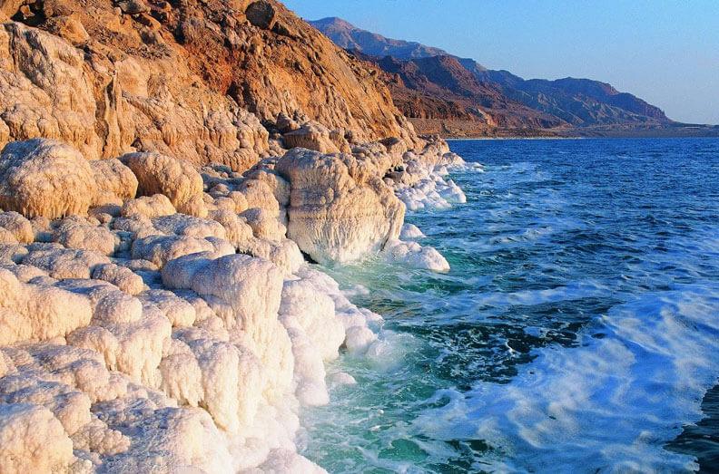 Salts Dead Sea Jordan