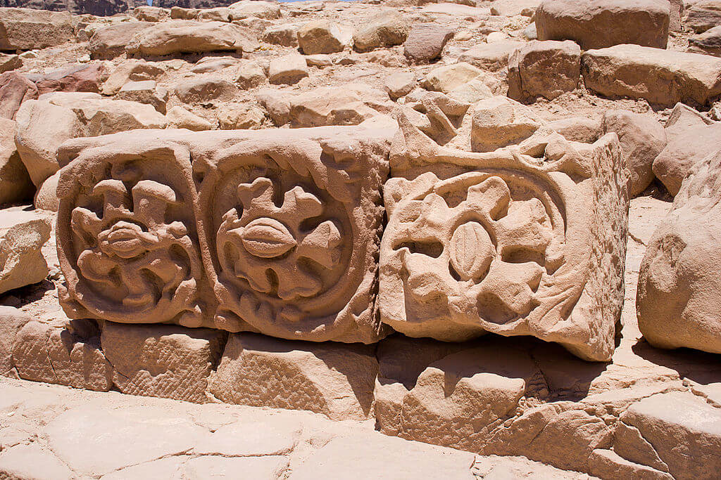 Ornamental Ruins Petra
