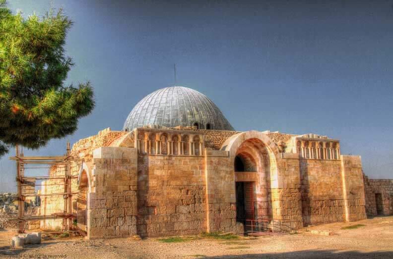 Umayyad Palace Amman Citadel
