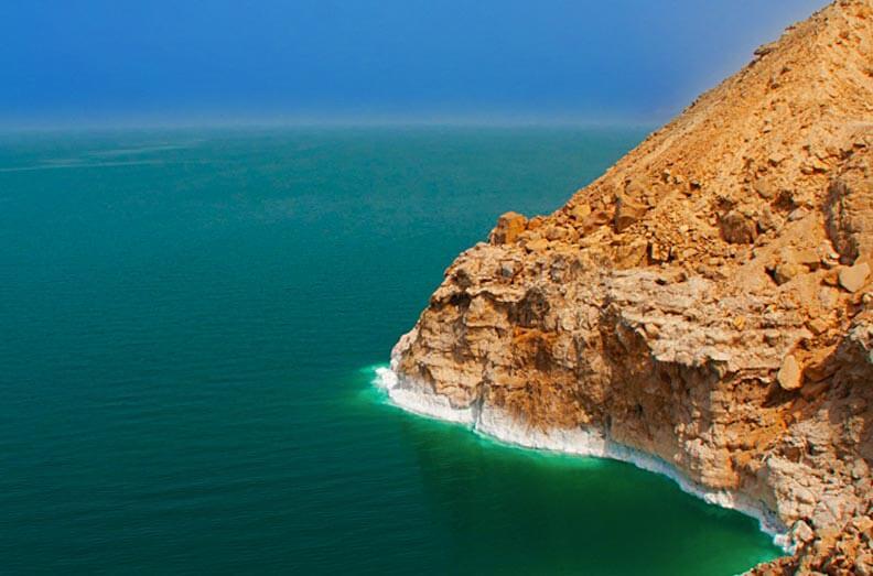 Salt Formation Dead Sea Jordan